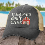 Farm Hair, Don't Care Hat