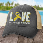 Endometriosis Love Ribbon Hat