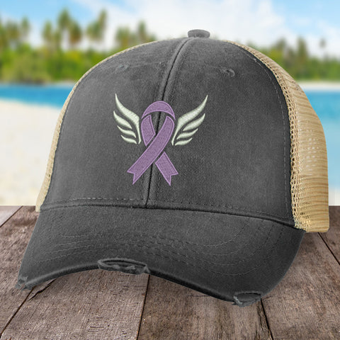 100% Donation - Alzheimer's Angel Wings Hat