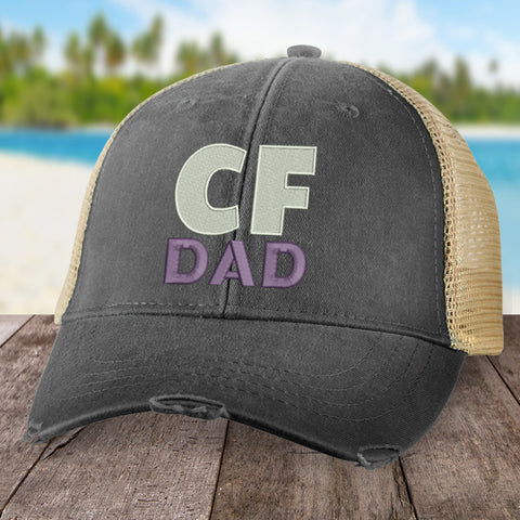 100% Donation - Cystic Fibrosis Dad Hat