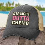 Breast Cancer Straight Outta Chemo Hat