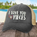 Autism Love You To Pieces Hat