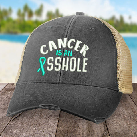 100% Donation - Cervical Cancer Is An Asshole Hat