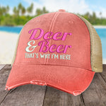 Deer And Beer Hat