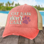Cat Hair Don't Care Hat