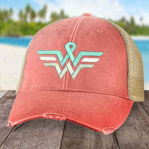 100% Donation - Ovarian Wonder Woman Hat