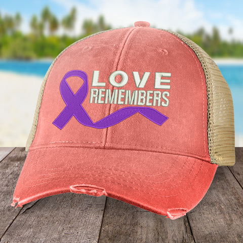 100% Donation - Alzheimer's Love Remembers Hat