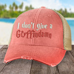 I Don't Give a Gryffindamn Hat