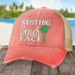 Resting Beach Face Hat