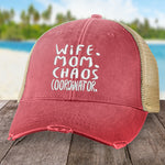 Wife Mom Chaos Coordinator Hat