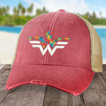 Autism Wonder Woman Hat