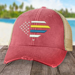 Down Syndrome Flag Hat