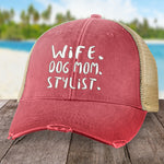 Wife Dog Mom Stylist Hat