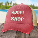 100% Donation - Adopt Don't Shop Hat