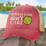 Tennis Hair, Don't Care Hat