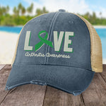 Arthritis Love Green Hat