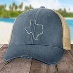 Texas State Outline Hat