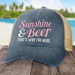 Sunshine and Beer Hat