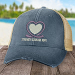 Alzheimer's Strength Courage Hope Hat