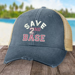Breast Cancer Save 2nd Base Hat