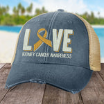 Donation - Kidney Cancer Love Ribbon Hat