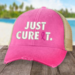 Breast Cancer Just Cure It Hat