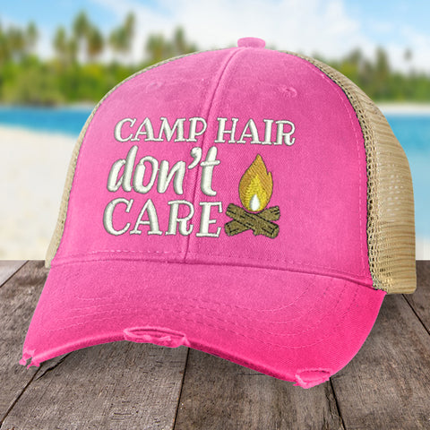 Camp Hair, Don't Care Hat