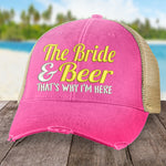 The Bride and the Beer Hat
