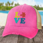 Donation - Autism Puzzle Love Hat