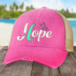 Thyroid Cancer Hope Ribbon Hat