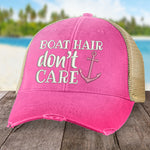 Boat Hair, Don't Care Hat