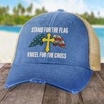 Stand For The Flag, Kneel For The Cross Hat