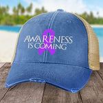 Awareness Is Coming Alzheimers Hat