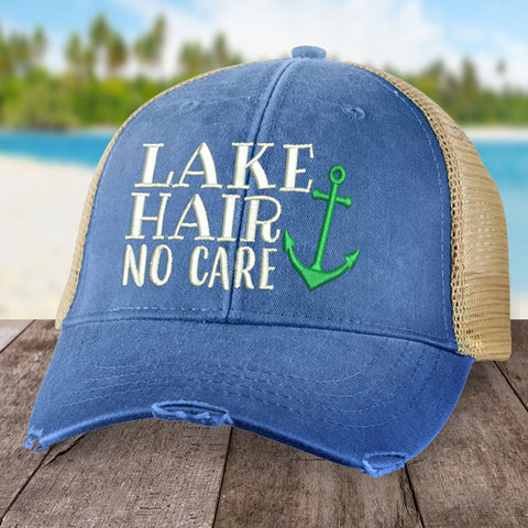 Lake Hair, No Care Hat