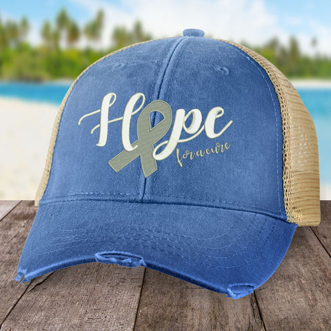 100% Donation - Diabetes Hope For A Cure Hat