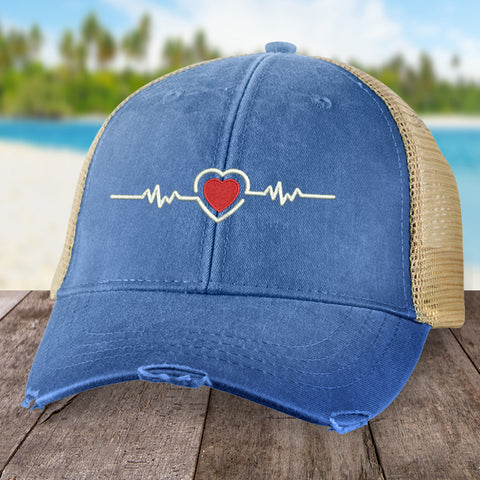 Heart Disease Line Hat