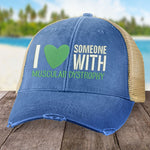 Muscular Dystrophy I Heart Someone Hat