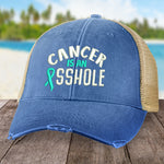 Ovarian Cancer Is An Asshole Hat