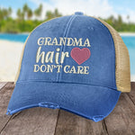Grandma Hair, Don't Care Hat