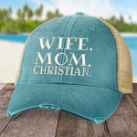 Wife Mom Christian Hat