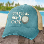 Golf Hair, Don't Care Hat