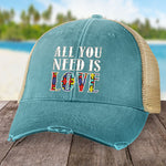 Autism All You Need Is Love Hat