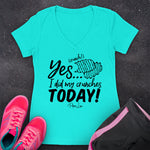 Yes I Did My Crunches Today Fitness Apparel