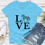 Horse Love - Floral