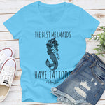 The Best Mermaids Have Tattoos