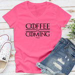 Coffee Is Coming