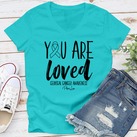 100% Donation - You Are Loved Cervical Cancer