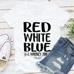 Red White Blue And Whiskey Too