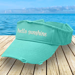 Hello Sunshine Visor