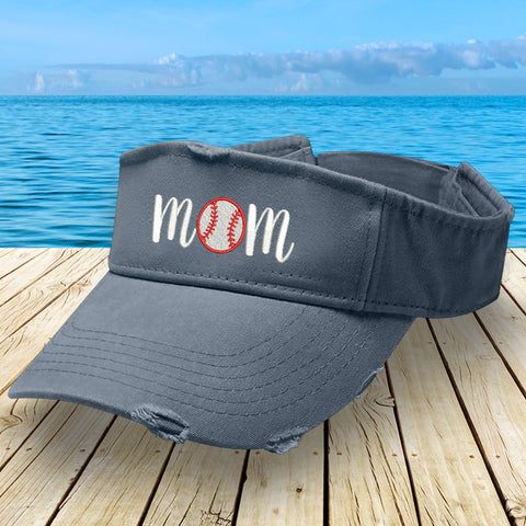 Baseball Mom Visor